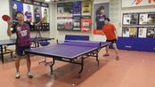 【渡边】 Nittaku製 玄武岩外置 + G1 (两面) 試打! BASALTEC OUTER .Table Tennis Racket~