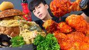 【chiyoon】核仁面食+奶油意大利面+ KOMBUCHA食用声音(2020年2月29日23时0分)