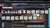 【编曲制作教程】你不知道的Cubase功能,超实用!混缩鼓组绝对会用到的!