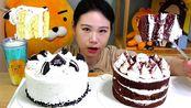 【卡妹】巧克力蛋糕库安蛋糕吃播Mukbang(2019年9月4日11时1分)