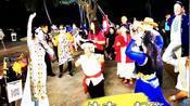 三亚海月广场的夜晚,北方候鸟明星荟萃大跳广场舞!#跨年去旅行#