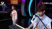 【汪苏泷】现场钢琴伴奏和羌沐阳合唱《稻香》(中国新声代第五季)