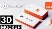 Blender 2.8 教程 制作属于你自己的3D名片