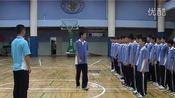 八年级初中体育优质课视频展示《毽球——背传球技术》_周健