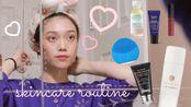 nat的晚间护肤流程+mini购物分享&vlog