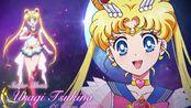 【MUGEN】美少女战士:Eternal水手月亮超杀技能演示