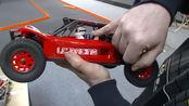 lc racing 1/14 emb dth 沙漠卡室内场地介绍 试跑 rc 遥控模型 车 buggy truck