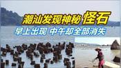 【VLOG 91】广东汕头发现10000条海上怪石 早上浮现中午消失 渔民天天来挖宝!