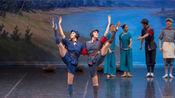 中央芭蕾舞团高雅艺术进校园走进西安邮电大学 红色娘子军 第四场选段剪辑 宁珑 靖心宇 武思明