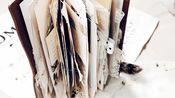 【是曲毛毛呀】【手帐】第一本junk journal爆本翻翻看|手帐小机关|立体手帐制作|TN|翻翻乐
