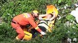暴雨致26名游客被困景区 河北承德消防成功救援