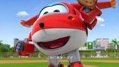 超级飞侠:暖心的乐迪,陪胡里奥打棒球,还一直给胡里奥加油!超
