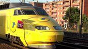 【SNCF摄影】货运动车组——邮政TGV列车