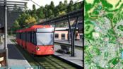 【安多】第五十二集 - 最长电车线——红线搭乘 #都市天际线 Longest Tram Line in Arndorf: Red Line 13.1 Km