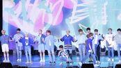 【Seventeen】180723 蔚山Summer Festival 小十七'Oh my!+Mansae+Very nice'舞台