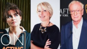 Helena Bonham Carter, Emma Thompson, Michael Caine and More!   Actors on Acting