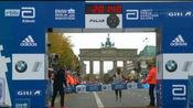 2019柏林马拉松Kenenisa Bekele贝克勒创造世界第二好成绩和世界纪录保持者基普乔格仅3秒之差