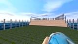 迷你世界:小伙和美女跨越大海,来到凯尔达隆小镇