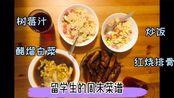 【红烧排骨+醋熘白菜+炒米饭】留学生vlog周末菜谱|用最简单的食材调料烹饪最地道可口的家常菜()