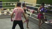 【欧美成年人职业泰拳赛】(55kg)(ko)Bianca Sattelmayer vs Mel Alvez