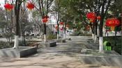 宜昌市夷陵区公园里空无一人