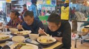 """瑶哥今天去了广西贺州游玩,中午点了个""""烧鹅饭"""",摄影师都看饿了"""