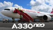 【YouTube】毛里求斯航空 空客A330-900 商务舱飞行报告(伦敦 - 毛里求斯)