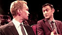 约瑟夫和场景搭档尼尔·帕特里克·哈里斯的自制短剧表演