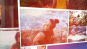 AE模板-图片飘落照片墙展示片头 Photo Slideshow 19259110