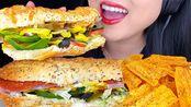 【phan】助眠地铁三明治*意大利BMT vs甜洋葱鸡Teriyaki*(助眠口音)助助眠Phan(2020年2月14日13时20分)