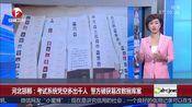 [超级新闻场]河北邯郸:考试系统凭空多出千人 警方破获篡改数据库案