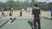 2019年河大男女混合赛 历院文旅排球队 混剪(安康曼曼张蝶提供)