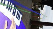 """20200222:用""""最美钢琴""""音色以江苏徐州沛县某地为背景演奏《离别的车站》"""