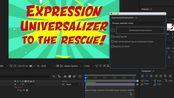 【AE】Expression Universalizer表达式修复脚本3.1.2使用教程(附下载地址)