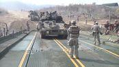 【美军陆军部队】陆军舟桥部队坦克装备训练画面