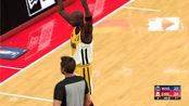 NBA2K20中国王朝(152)大心脏巨星对飙时刻 欧文&乔丹互射三分