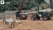 ScaleART Arocs三轴Long-timber木材运输吊车