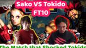 【经典比赛】Sako (嘉米) VS Tokido (豪鬼)  神之花园 抢十 街头霸王4