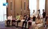 [湖北新闻]与军运会同行 国际军体主席赫尔维·皮奇里洛在汉签署第七届世界军人运动会邀请信