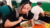 湖北襄阳霸气面馆,仅一款面,每天卖200斤,本地人吃1份打包2份