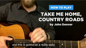 Take me home, country road. (Easy version)