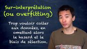 La sur-interprétation (overfitting) | Intelligence Artificielle 11 (ft. Hygièn