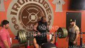 Julius Maddox/800lb之路/640lb(290kg)推6个