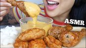 【sas】助眠韩式*邦川炸鸡+奶酪火锅(吃的声音)不说话| SAS-助眠(2020年2月23日6时20分)