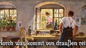 Horch was kommt von drauen rein[听外面传来什么声音][德国民歌][+英语歌词]