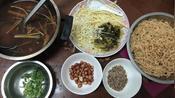 海南海口人的早餐 在家花10块钱制作海南粉 好吃过瘾三人都不够吃