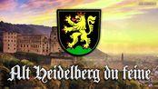 Alt Heidelberg du feine[德国学生歌曲][+英语歌词]