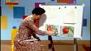 《构成意识幼儿美术教程》第一套之三第二课:红红的大萝卜