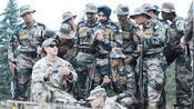 印度陆军向美军取经不过那个印军官把枪杵在地上姿势像一个打猎的
