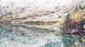 冬天里的九寨沟你见过吗?来雪中九寨!